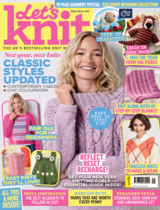Let's Knit JANUARY2021