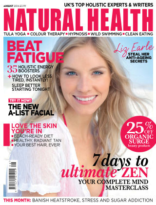 Natural Health August 2014