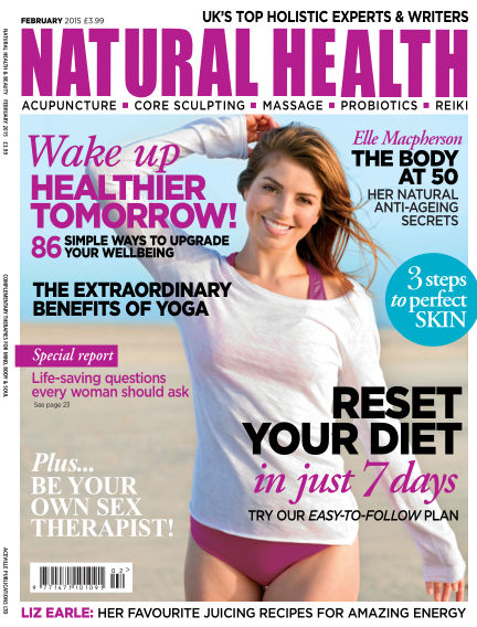 Natural Health January 09, 2015 00:00