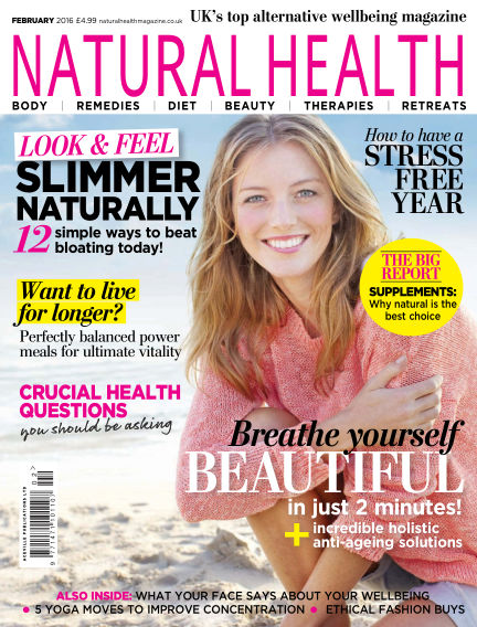 Natural Health January 08, 2016 00:00