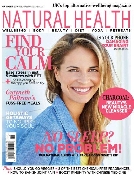Natural Health September 09, 2016 00:00