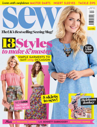 Sew August 2017