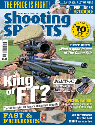 Shooting Sports August 2017