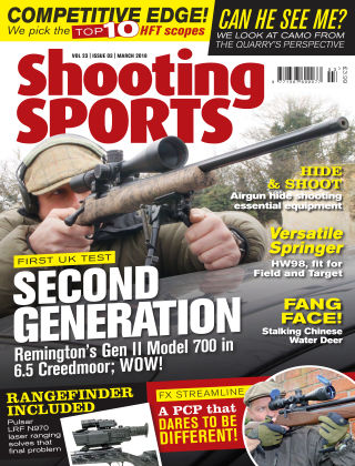 Shooting Sports March 2018