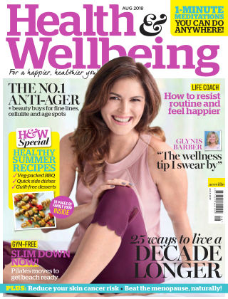 Health & Wellbeing Aug 2018