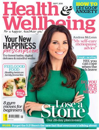 Health & Wellbeing Sep 2018