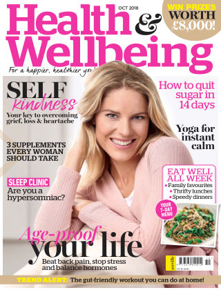 Health & Wellbeing October2018