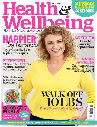 Health & Wellbeing February 2019