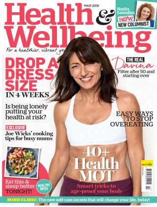 Health & Wellbeing Mar2019