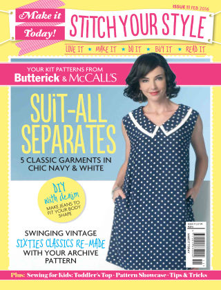 Make It Today Dressmaker! Issue 11 2015