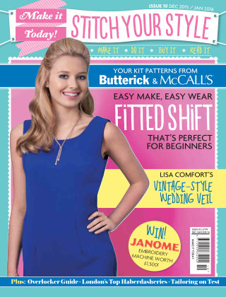 Make It Today Dressmaker! Issue 10 2015