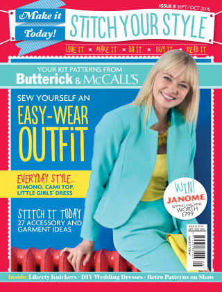 Make It Today Dressmaker! Issue 8 2015