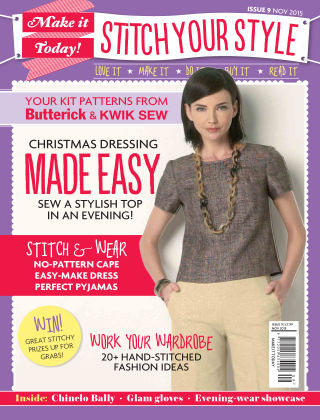 Make It Today Dressmaker! Issue 9 2015