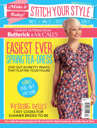 Make It Today Dressmaker! Issue 12 2015
