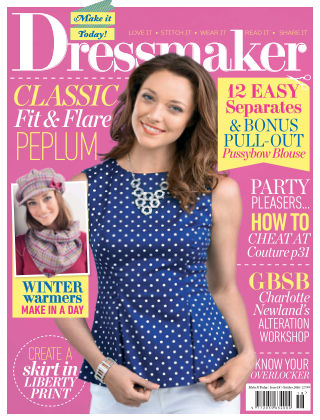 Make It Today Dressmaker! Issue 18 2016