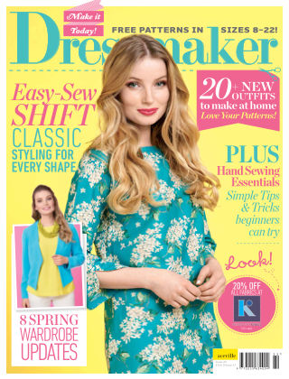 Make It Today Dressmaker! Issue 22 2017