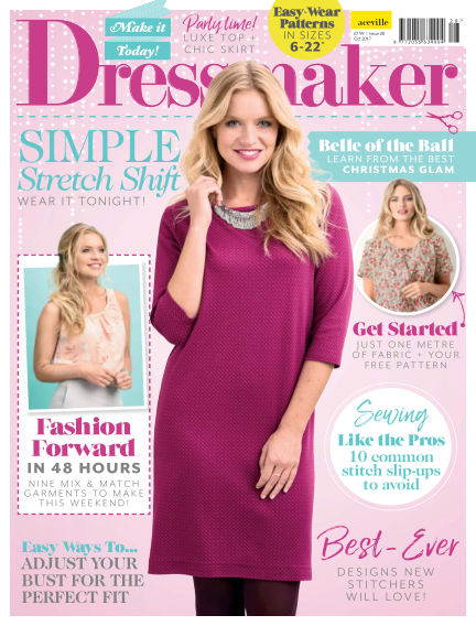 Make It Today Dressmaker! October 13, 2017 00:00