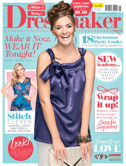 Make It Today Dressmaker! November 17, 2017 00:00