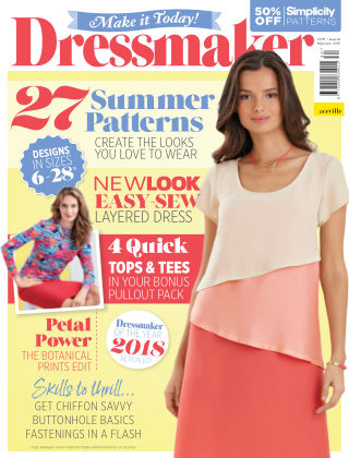 Make It Today Dressmaker! Issue 34