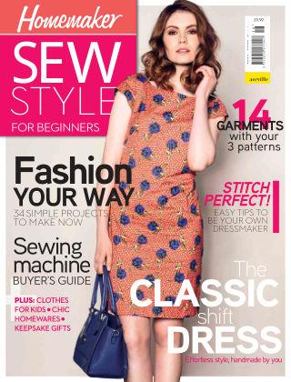 Homemaker Specials Sew Style Beginners