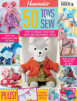 Homemaker Specials 50 Toys To Sew