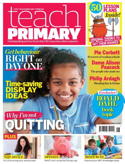 Teach Primary September 30, 2017 00:00