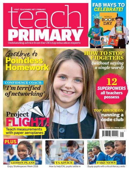 Teach Primary January 05, 2018 00:00