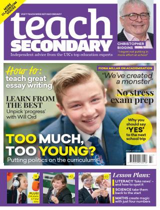 Teach Secondary Vol.6 No.8
