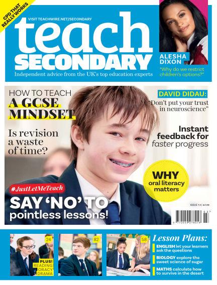 Teach Secondary April 06, 2018 00:00