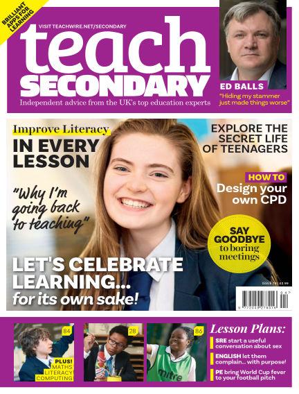 Teach Secondary June 01, 2018 00:00