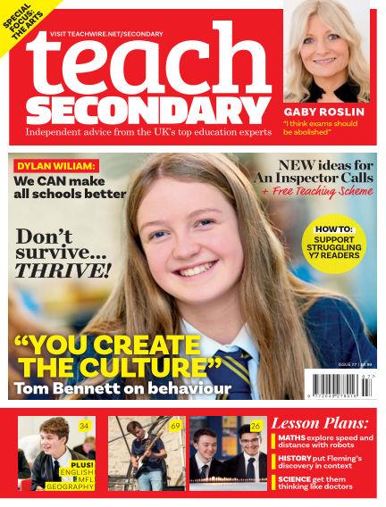 Teach Secondary October 05, 2018 00:00