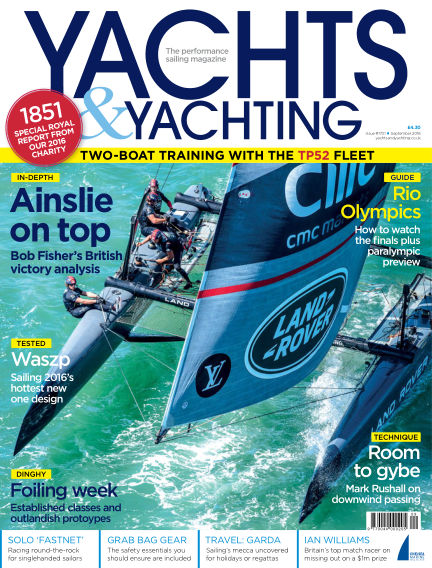 Yachts and Yachting August 12, 2016 00:00
