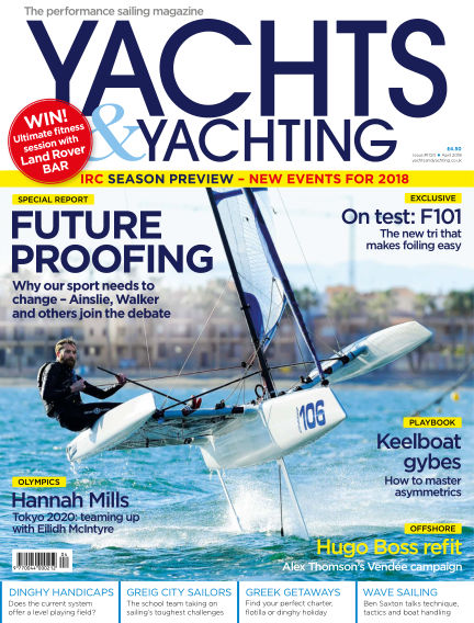 Yachts and Yachting March 09, 2018 00:00