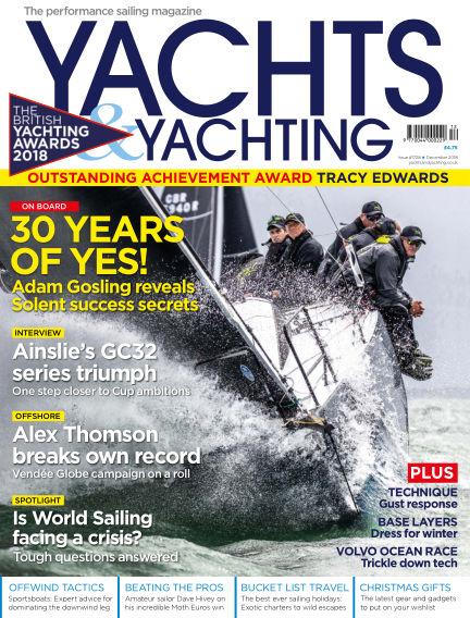 Yachts and Yachting November 09, 2018 00:00