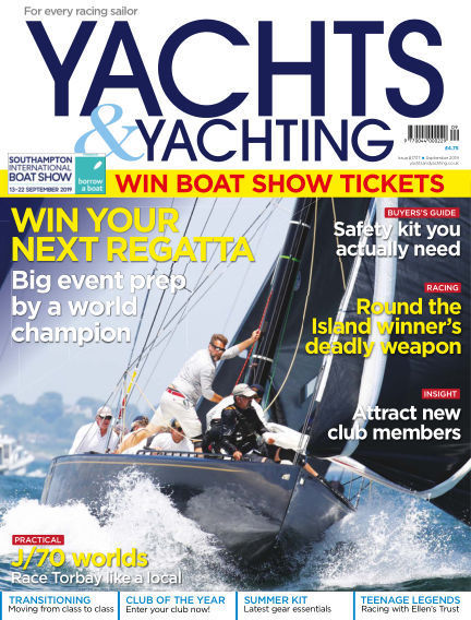 Yachts and Yachting August 09, 2019 00:00