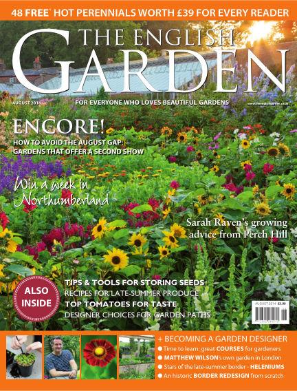 The English Garden July 23, 2014 00:00