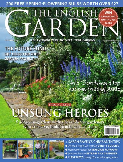 The English Garden September 17, 2014 00:00
