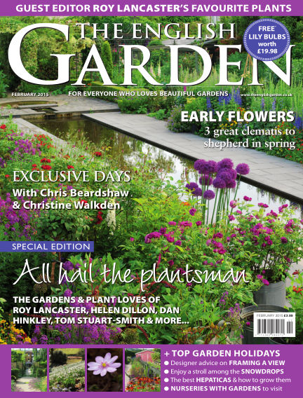 The English Garden January 07, 2015 00:00