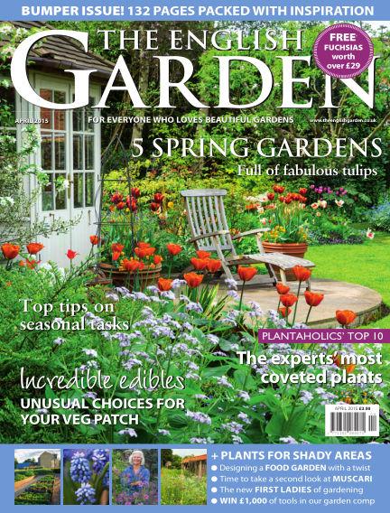 The English Garden March 04, 2015 00:00