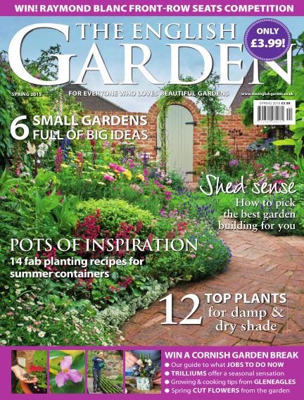 The English Garden April 01, 2015 00:00