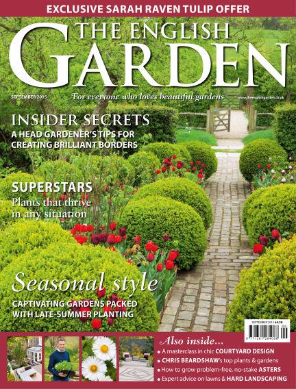 The English Garden August 19, 2015 00:00