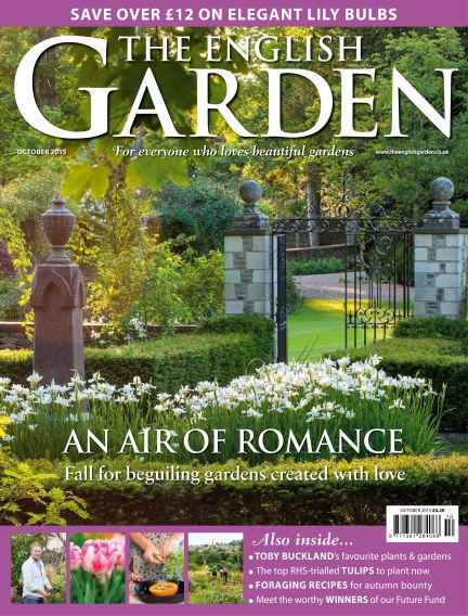 The English Garden September 16, 2015 00:00