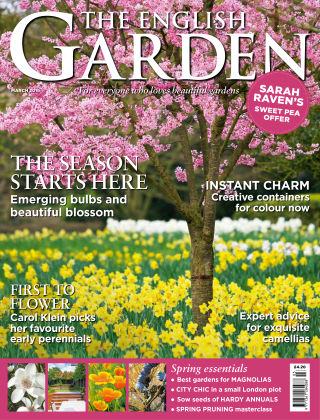 The English Garden March 2016
