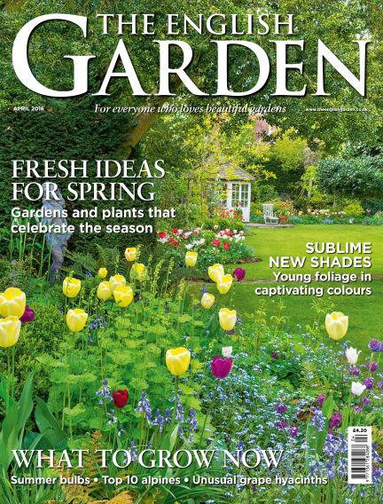 The English Garden March 02, 2016 00:00