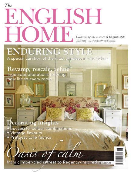 The English Home May 06, 2015 00:00