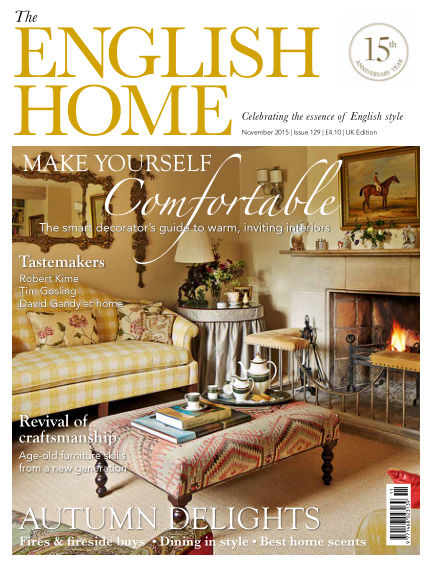 The English Home October 08, 2015 00:00