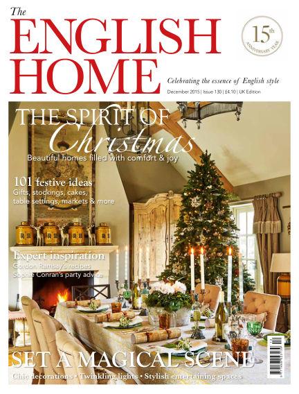 The English Home November 04, 2015 00:00