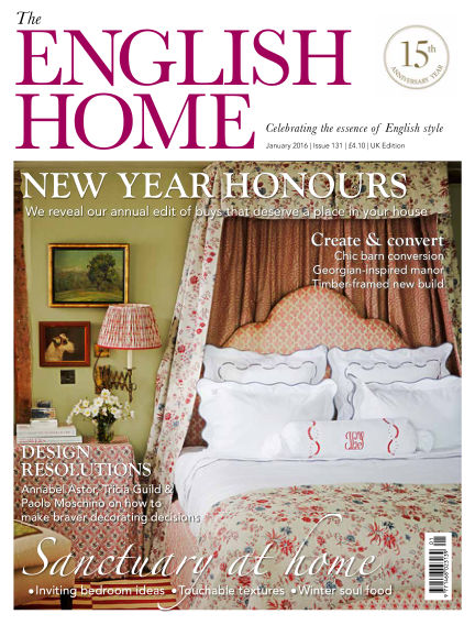 The English Home December 03, 2015 00:00