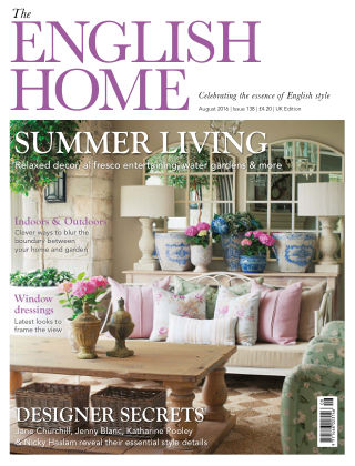 The English Home August 2016