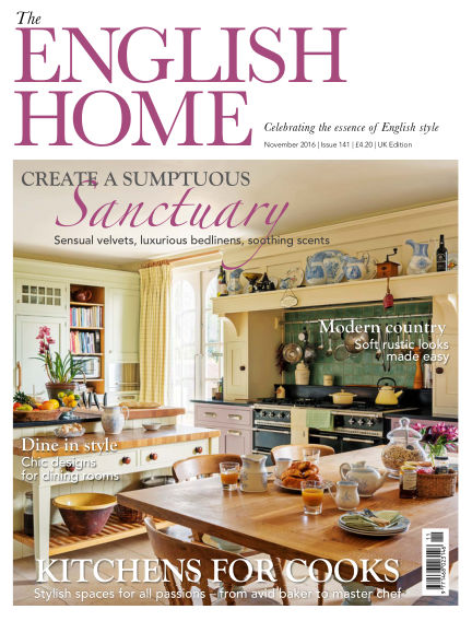 The English Home October 05, 2016 00:00